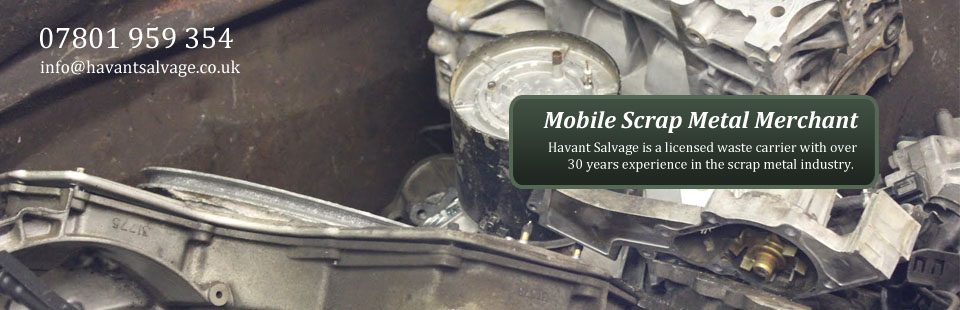 Havant Salvage Mobile Scrap Metal Merchant