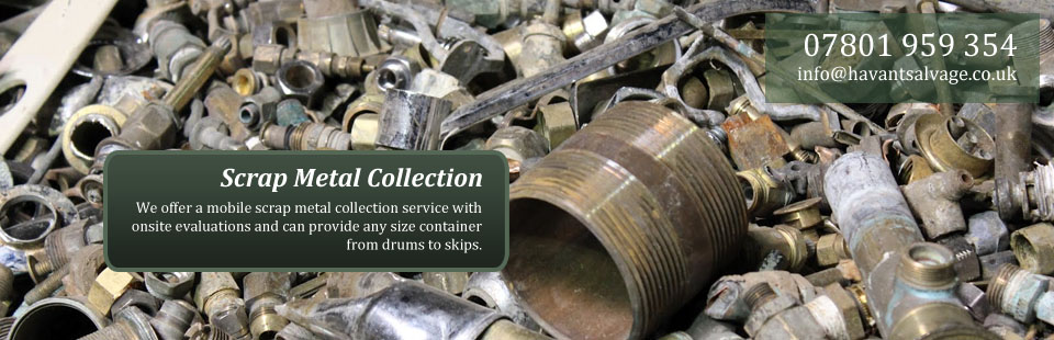 Havant Salvage Scrap Metal Collection